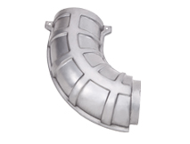 HEAT SHEILD PART 1 OUTLET PIPE